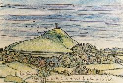 Glastonbury Tor (2002) by Rosemary Dickens