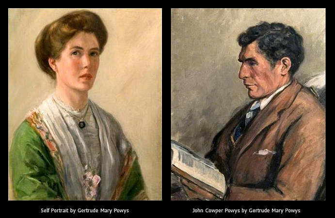 17 paintings by gertrude mary powys