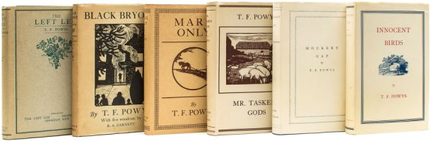 T F Powys, book covers